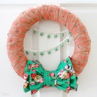 Ruffles and Burlap Wreath