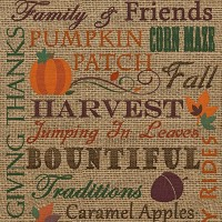 Fall Burlap Subway Art Printable