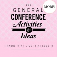 LDS General Conference Activities