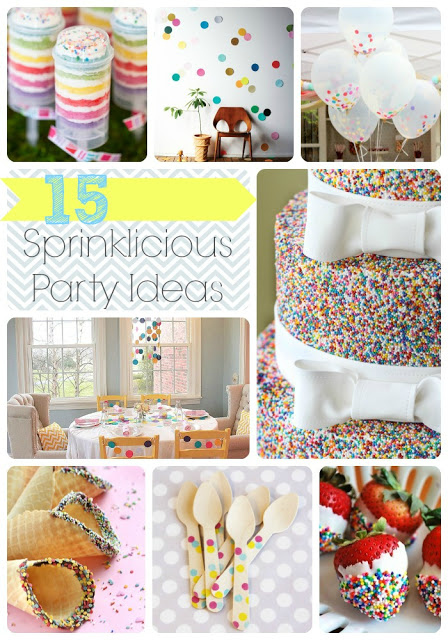 15 Sprinkle Party Ideas