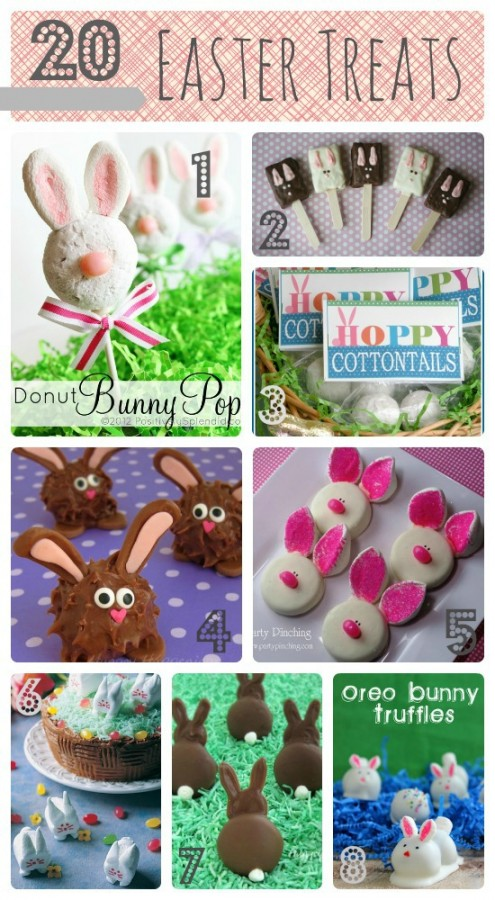 20 Cutest Easter Treats