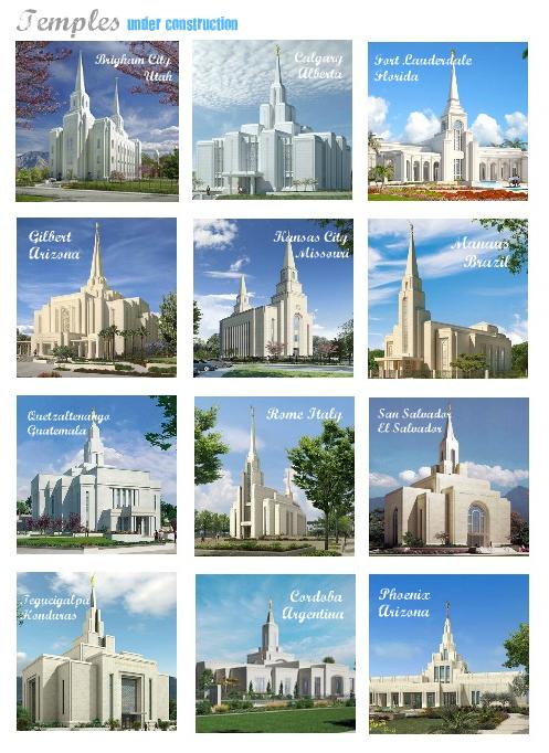 Temples Under Construction