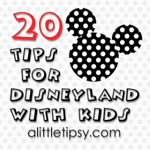 20 Tips for Disneyland with Kids
