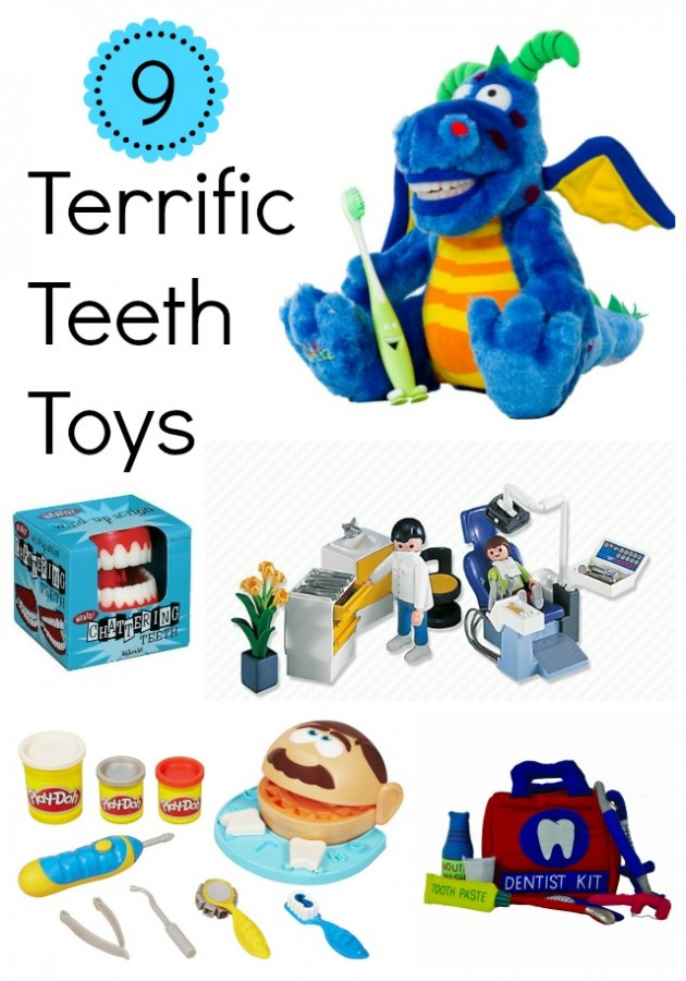 9 Terrific Teeth Toys to Make Brushing and Dentist Trips Fun