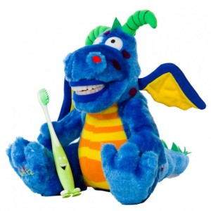 Brushing Teeth Dragon Plush