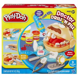 Playdough Doctor Drill N Fill