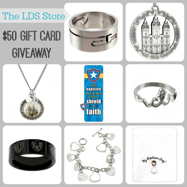 TheLDSStore.com $50 Gift Card Giveaway