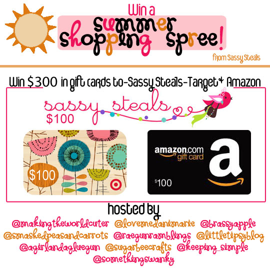 Summer Shopping Spree Giveaway 300 To Target Amazon