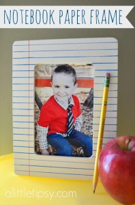 School Frame Notebook paper
