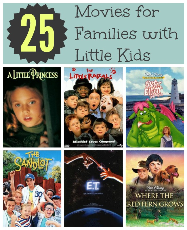 25 Movies for Families with Little Kids