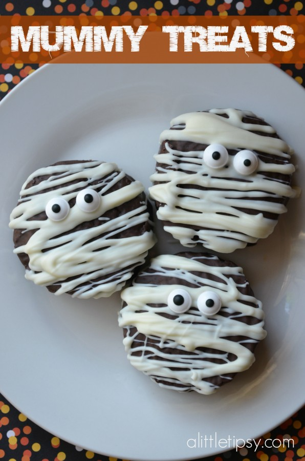 Mummy Halloween Treats