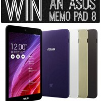 Win an Asus Memo Pad 8 #giveaway #inteltablet