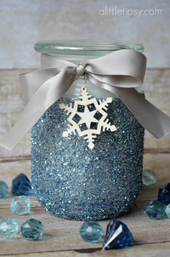 Glitter Candle Gift