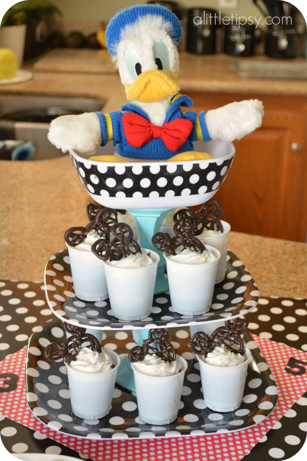 Mickey Mouse Party Food Dessert
