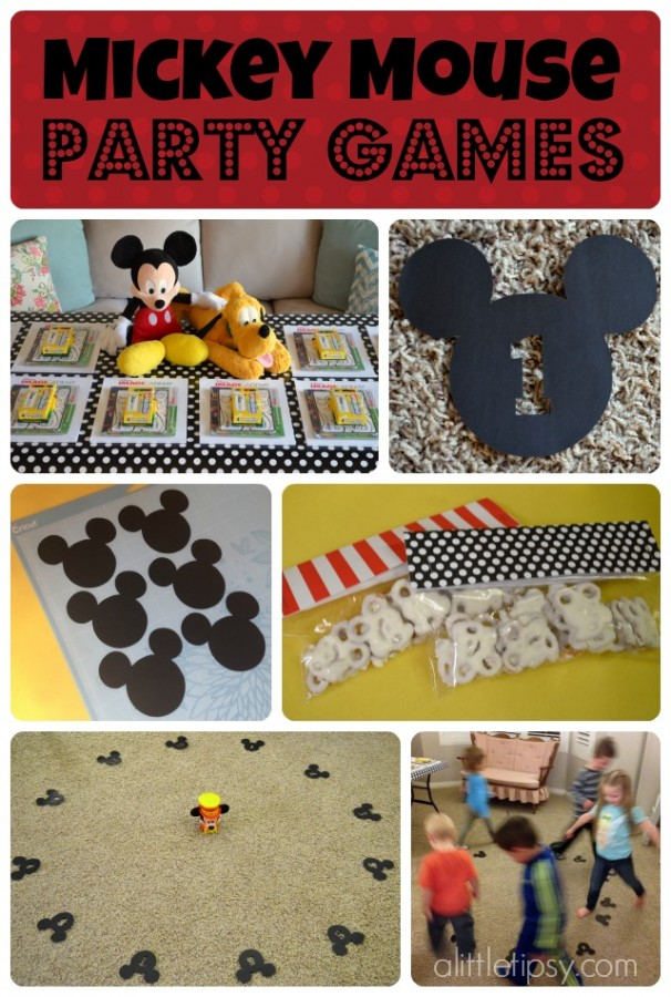 Mickey Mouse Party Games and Favors