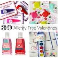 30 Allergy Free Valentines for Kids