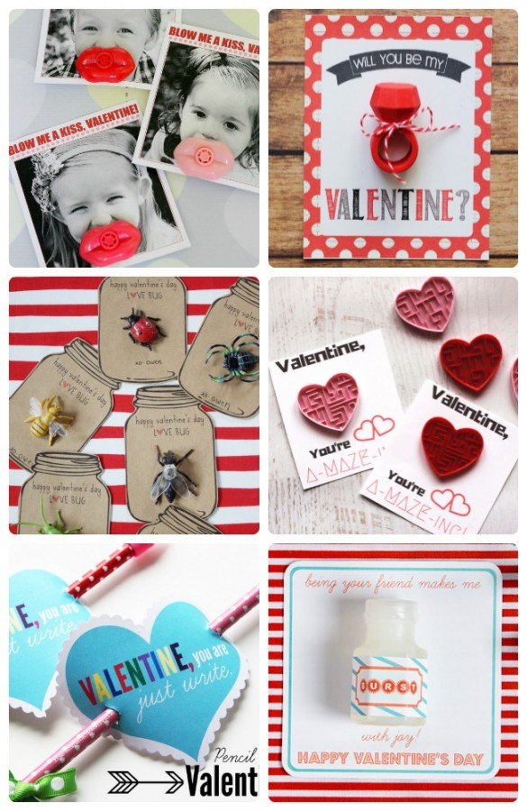 30 No Candy Allergy Free Valentines for Kids