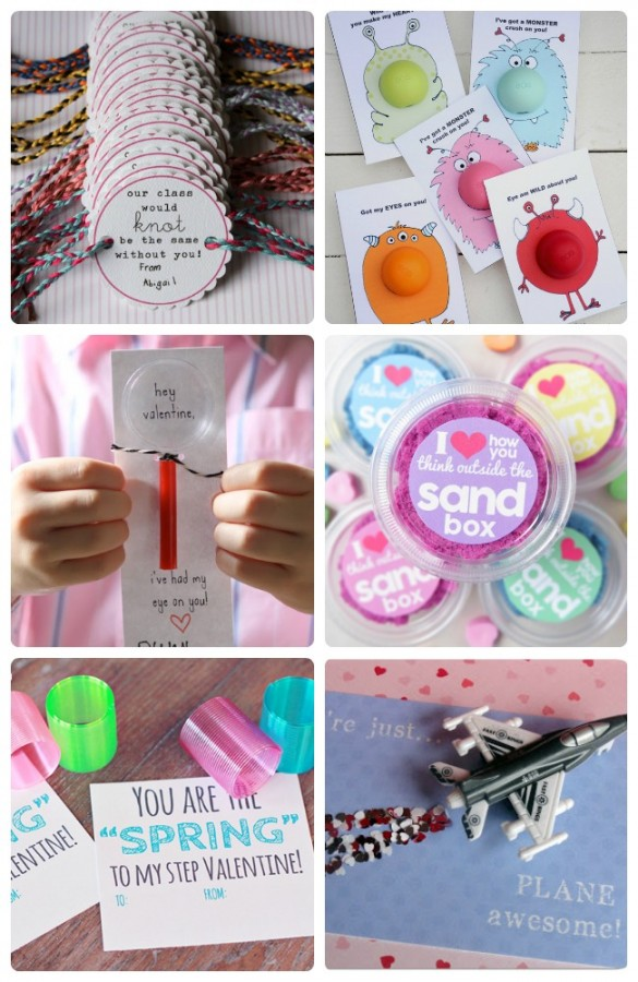 30 allergy free no candy valentines