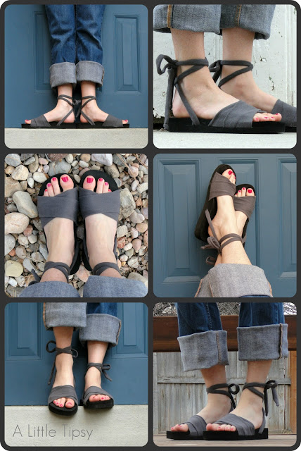 Upcycle Sandal
