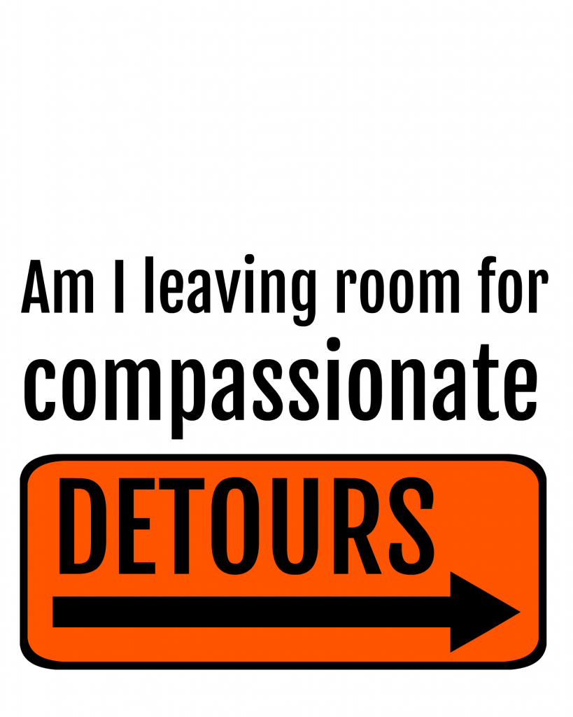 Come follow me week 10 Compassionate detours printable