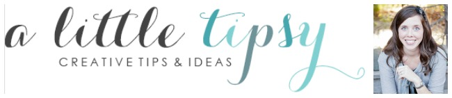 A Little Tipsy Logo bar