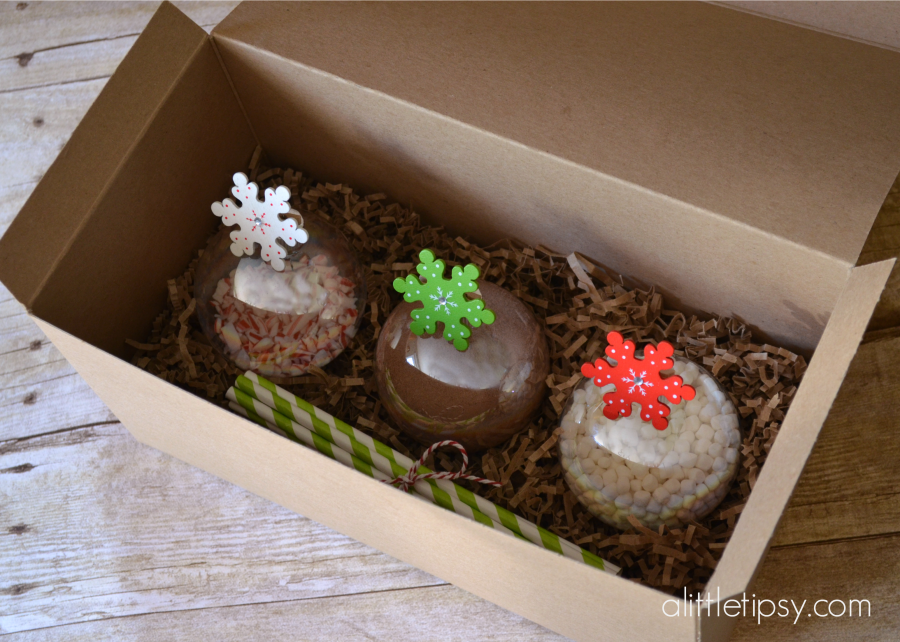 Hot Chocolate Gift Idea #ornaments