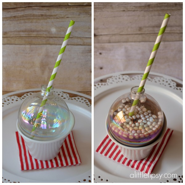 DIY Hot Cocoa Ornaments